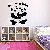 SLQUIET Mignon Panda Sticker Grand Animal Stickers Muraux Salle Des Enfants Amusants...