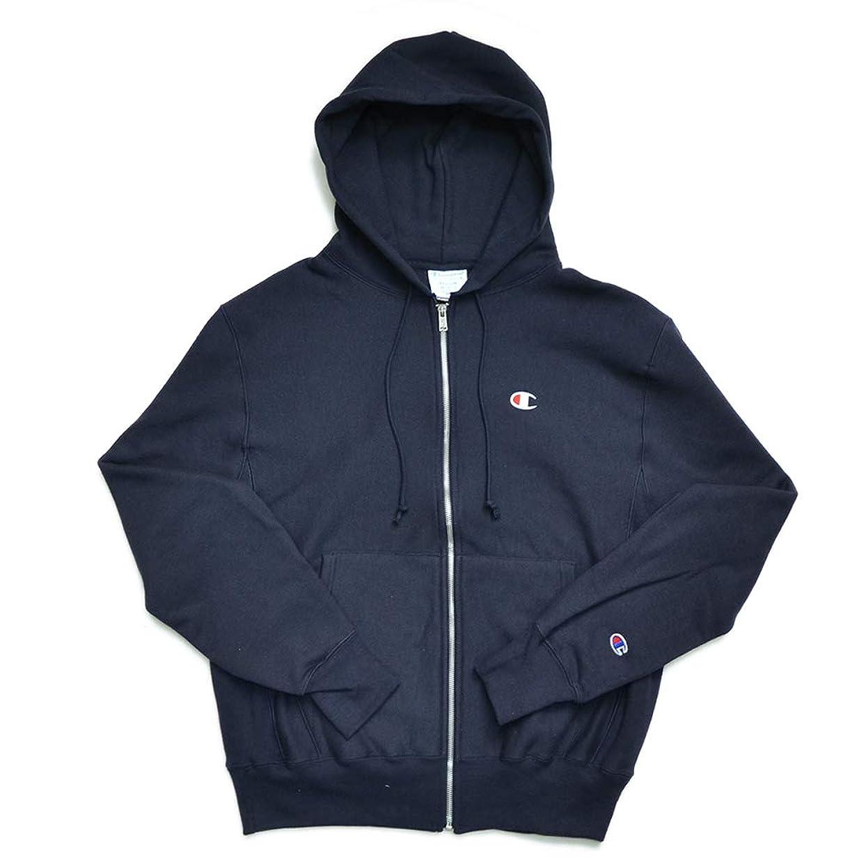 パラダイス有望も(チャンピオン) Champion Men's Reverse Weave Full Zip Jacket メンズ トップス ジップ フード パーカー 裏起毛 [並行輸入品]