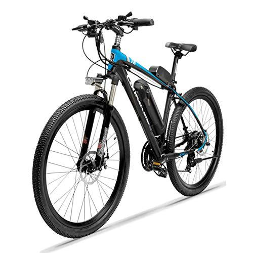 HWOEK Nouveau Vélo de Montagne électrique, 26 Pouces E-Bike pour Adultes Amovible Batterie au Lithium 36V 10Ah 21 Vitesses Vélo VTT électrique