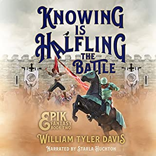 Knowing Is Halfling the Battle audiobook cover art