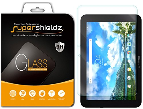 (2 Pack) Supershieldz for Verizon (Ellipsis 10) (Not Fit for Ellipsis 10 HD) Screen Protector, (Tempered Glass) Anti Scratch, Bubble Free