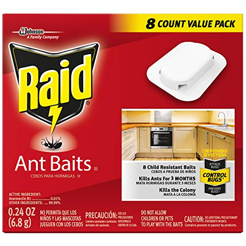 Raid Ant Killer Baits, For Household Use, Child Resistant, 8 Count