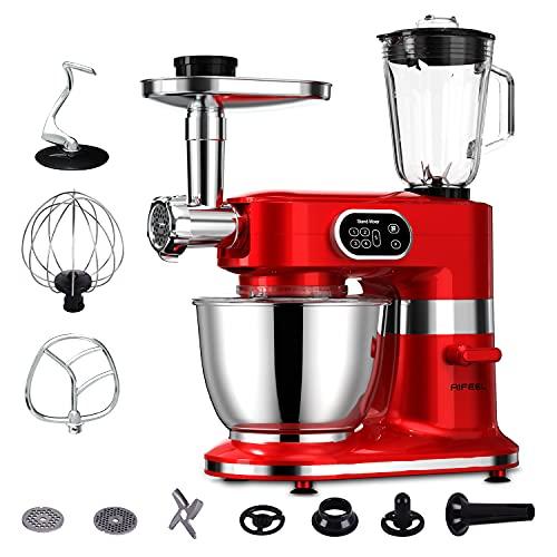 Aifeel 1000W Batidora Amasadora 7L Robot de Cocina 8 en 1 Multifunción...