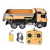 1573 1:14 camión RC Control Remoto camión volquete ingeniería Modelo de Coche Juguete 10-CH Control Remoto camión volquete RC camión volquete Juguete