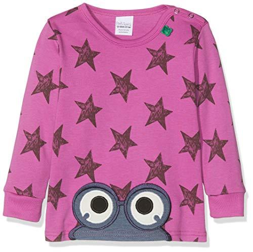 Fred'S World By Green Cotton Star T T-Shirt, Violet (Violet 018302708), 98 Bébé Fille