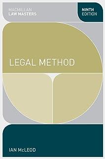 Legal Method (Macmillan Law Masters)