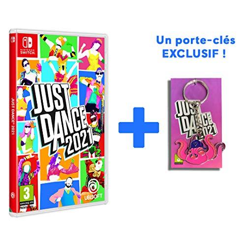 Just Dance 2021 sur Nintendo Switch + 1 porte clés offert