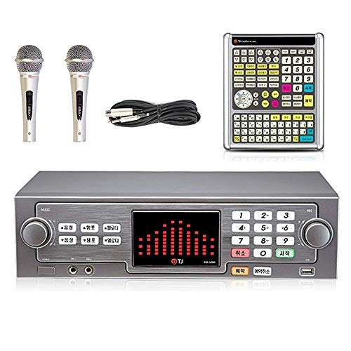 TJ Taijin Media TKR-365HK Home Party Korea Korean Karaoke Singing Machine 1TB HDD System + 2 Microphones + Remote Set /Follow-up TKR-304K