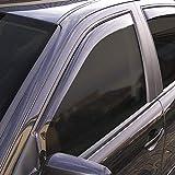 Car Lux NAR01084 Derivabrisas Deflectores de viento Deflector Ventanilla
