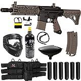 Maddog Tippmann TMC MAGFED Titanium CO2 Paintball Gun Starter Package - Tan