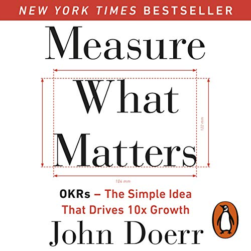 Measure What Matters  By  cover art