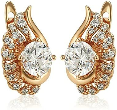 Delicate 2Ct Round Cut Max 53% OFF VVS1 D safety Diamond Y Drop Dangle Earrings 14K