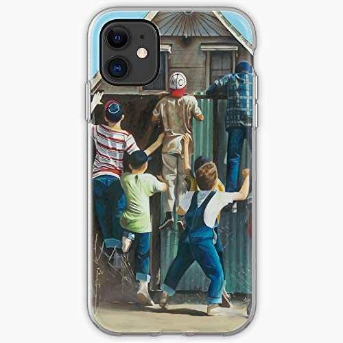 Baseball Sandlot Old Movies Ruth The Movie Babe Phone Case For All iPhone, iPhone 11, iPhone XR, iPhone 7 Plus/8 Plus, Huawei, Samsung Galaxy Illustration Stars Digital Rabbit Cute Bunny Kaw