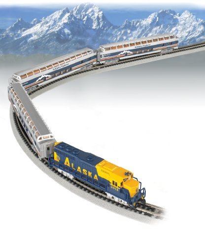 Bachmann Trains - McKinley Explorer Ready To Run Electric Passenger Train Set - N Scale