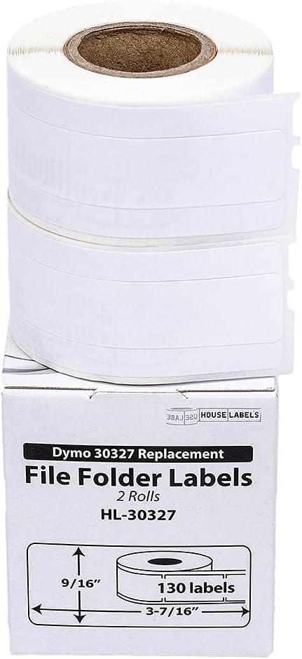 HOUSELABELS Compatible Manufacturer OFFicial shop DYMO 30327 30576 Labels 1 File Folder 9 Super popular specialty store