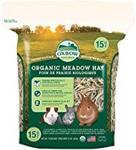 Oxbow Animal Health Meadow Hay - All Natural Hay for Rabbits, Guinea Pigs, Chinchillas, Hamsters & Gerbils - 15 oz.