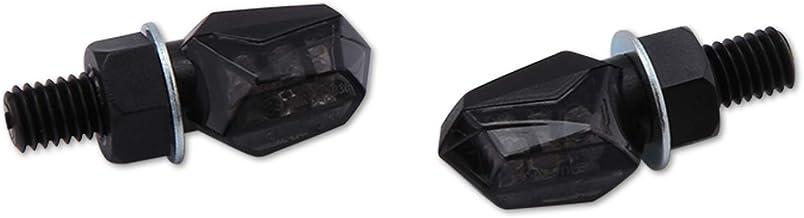 Motorize-Shin YO - Intermitente LED Tiny, Color Negro, Cristal Tintado