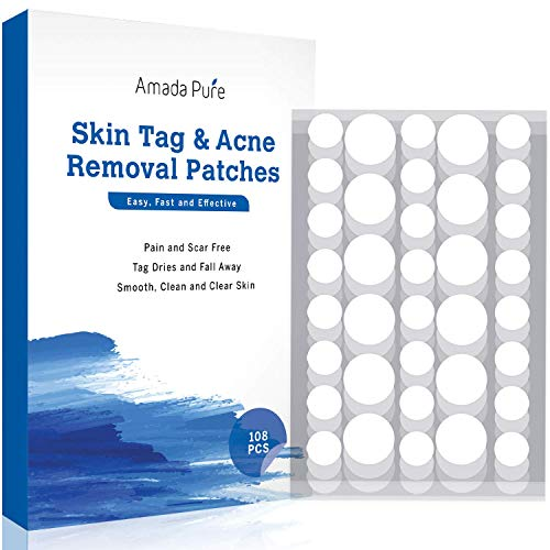 Skin Tag and Acne Remover 108 Patches, Wart & Mole...