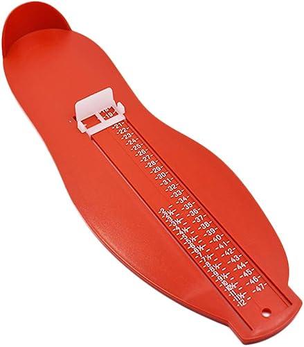 Ogquaton Outil de Mesure de Pied Règle de Pied en Plastique Pied Appareil à mesurer Chaussures Chaussures Accessoires...
