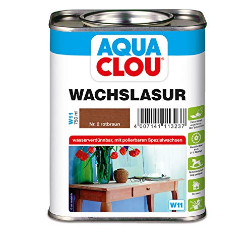 Wachslasur W11 rotbraun 0,750 L