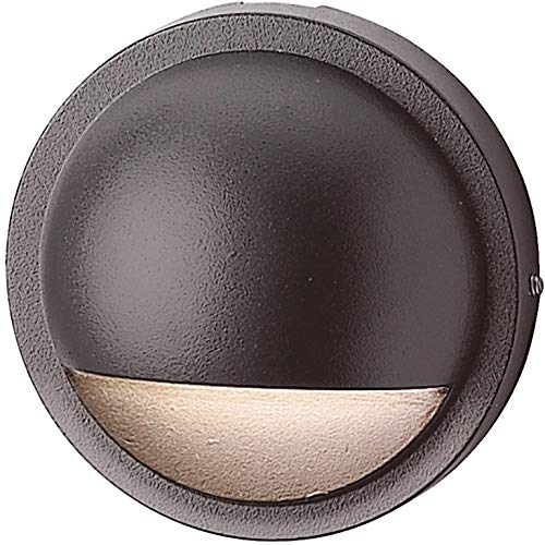Kichler 15064AZT, Six Groove Low Voltage Landscape Deck Lighting Fluorescent, Arch Bronze
