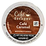 Cafe Escapes Keurig Brewed Cafe Caramel K-Cup Packs - 12 Count (Packaging May Vary)