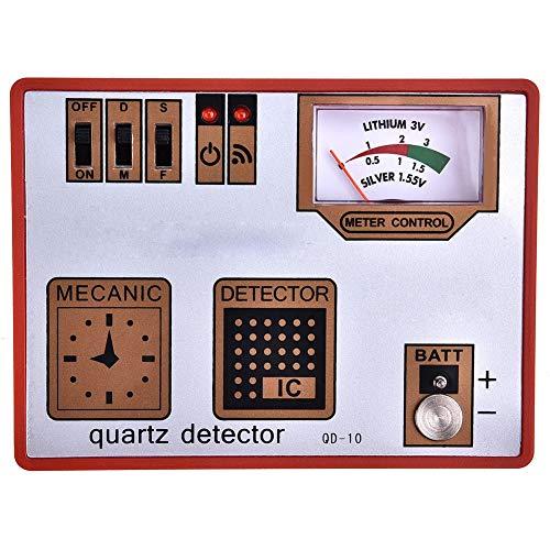 Qiterr Quarzdetektor, Entmagnetisierer Timegrapher Watch Entmagnetisierung/Batteriemessung/Pulstester Maschine