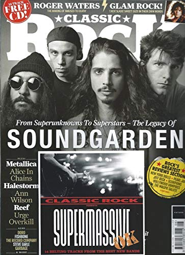 Classic Rock Magazine Issue 292 (August 2018) Soundgarden Cover