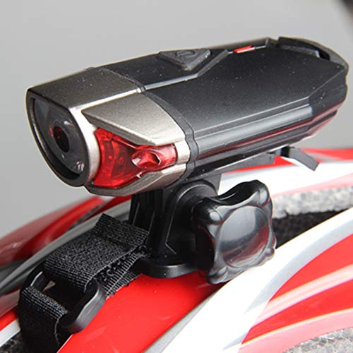 mingyangwl LED Stirnlampen Wiederaufladbare Front Fahrrad Helm Licht LED Lenker Lampen Fahrrad Helm Sicherheit Taschenlampe