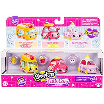 Shopkins Cutie Cars 3 Pack Collections, Die-C   Shopkin.Toys - Image 1