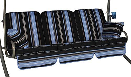 Angerer 785/190 Comfort de Coussin pour balancelle 3 Places Design Hambourg