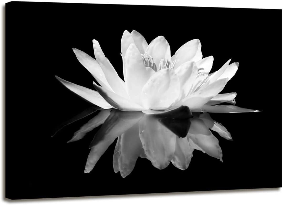 Max 66% OFF Maectpo Flower Canvas Prints Art for Lotus Pictur Discount is also underway Bedroom