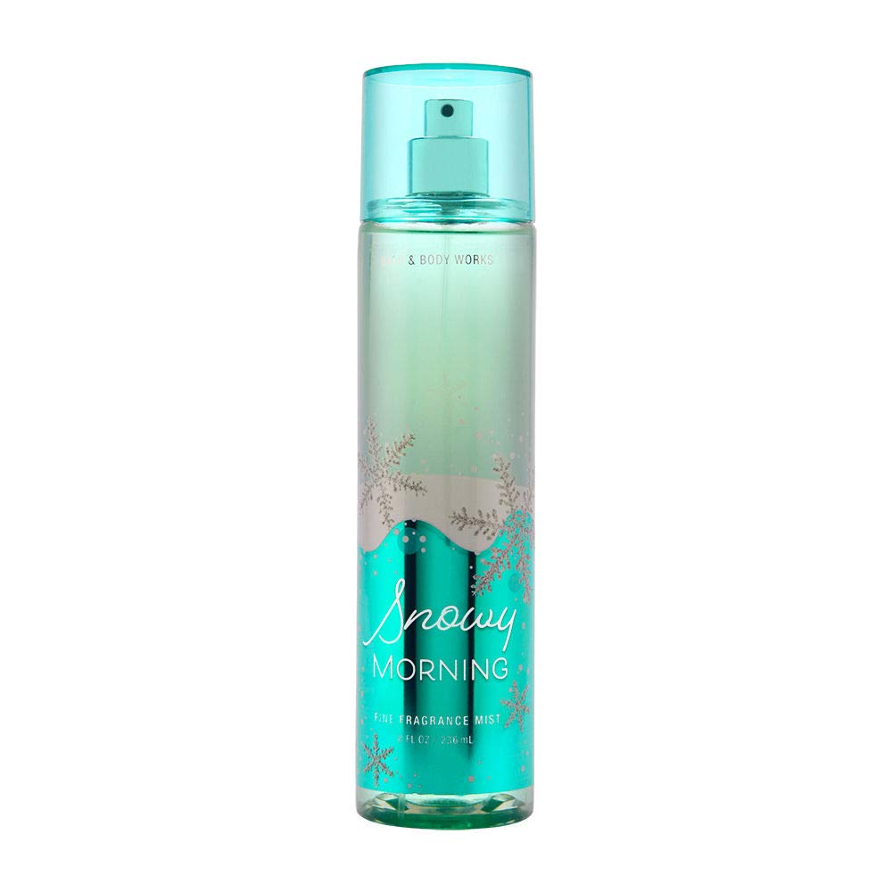 OFFicial site Bath Body Works Snowy Morning Cheap mail order sales Mist Fine Fragrance 8 Ounce