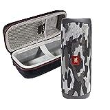 JBL FLIP 5 Portable Speaker IPX7 Waterproof On-The-Go Bundle with WRP Deluxe Hardshell Case (Black Camo)
