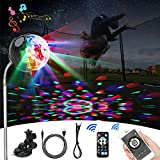 TKAIE Trampoline Lights & Bluetooth Music, Trampoline LED Lights with Remote Control - Outdoor Game Trampoline Accessories, Good Gift for Kids