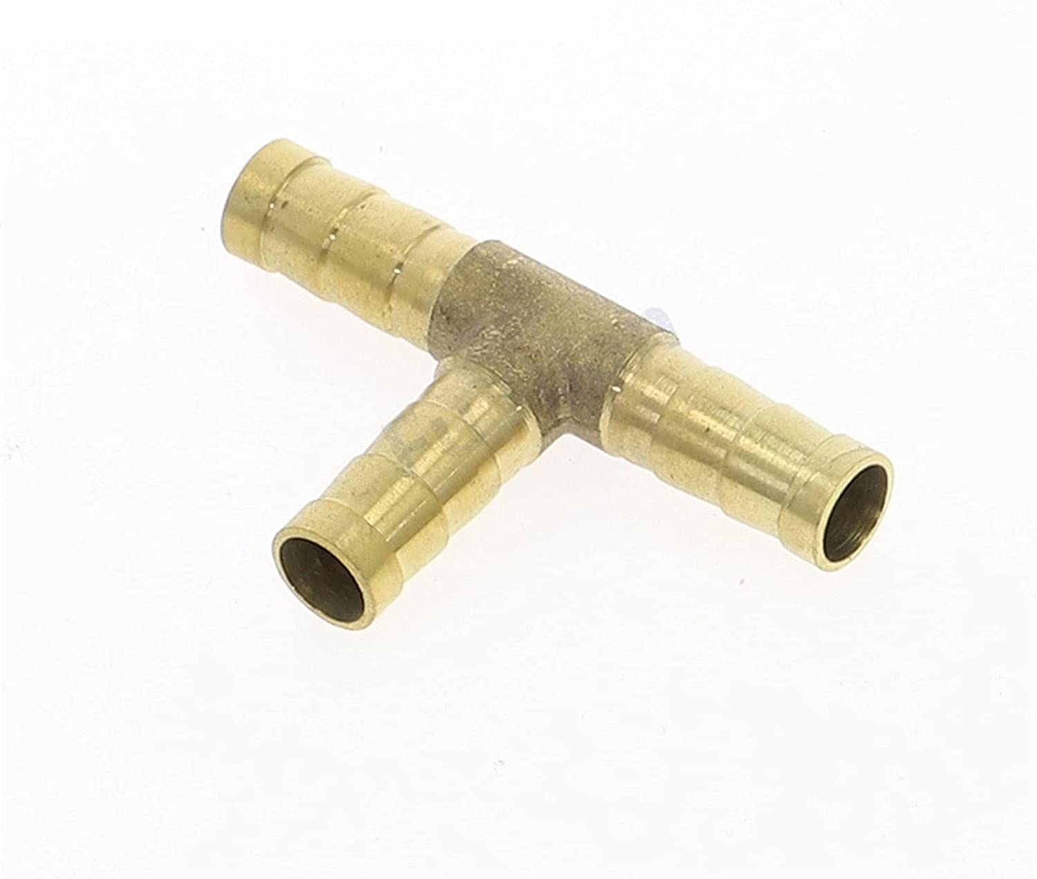 Zkenyao-Brass Connector Brass Barb Fitting Barbed 3 Way New Shipping Free Industry No. 1 Hose Tee