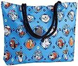 Disney Tote Travel Bag Dogs Print: 101 Dalmatians Lady Tramp Nana Copper Dodger