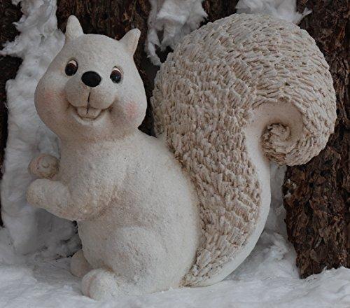 Décoration figure d'hiver écureuil - noel, animal, scintiller