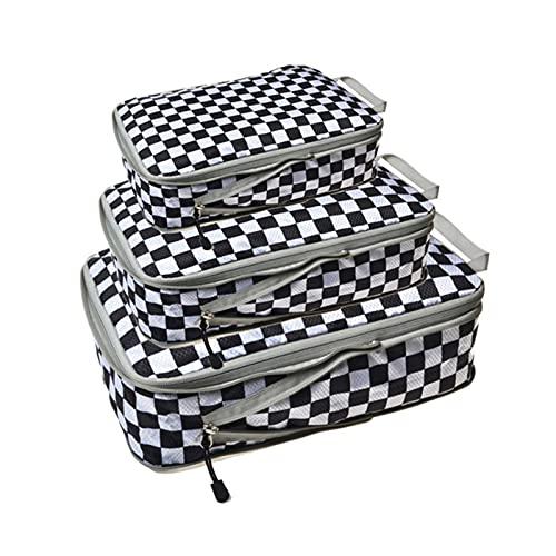 Cubos De Embalaje-Organizador De Viaje Ligero para Equipaje Cubos De Embalaje para Maletas Bolsas Organizadoras De Maletas, Ropa Interior Cubo Bolsa para Zapatos para Hombre Y Mujer