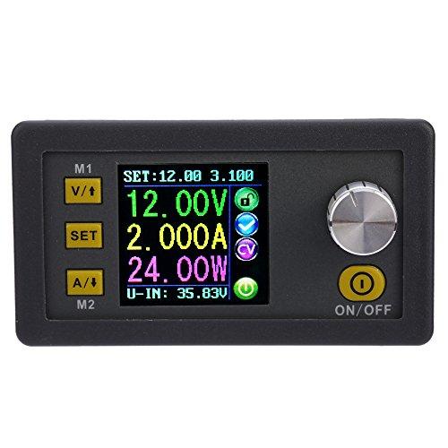KKmoon Módulo de Corriente programable de tensión Constante LCD Digital Fuente de alimentación de Bajada (Tipo1)