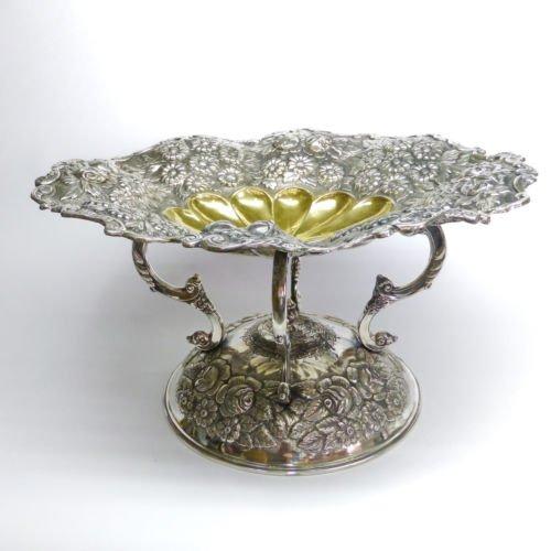 Silver Art - Ciotola per frutta in argento Sterling
