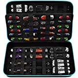 Knife Display Case for 64+ Pocket Knives. Folding Knife Holder, Butterfly Knives Storage Organizer, Knives Roll Collection Pouch Carrier Bag for Survival Tactical Outdoor EDC Mini Knife (Box Only)