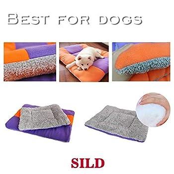 SILD Double Tapis Matelas réversible pour Animaux domestiques (Chiens et Chats), Doux et matelassé, différentes Tailles(XL)