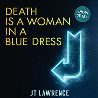 Death Is a Woman in a Blue Dress audiobook cover art