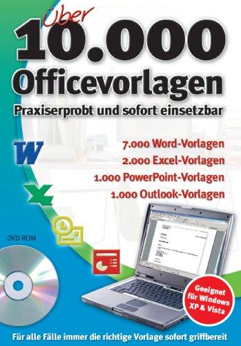 Über 10.000 Officevorlagen Word/Excel/PowerPoint/Outlook 10000 Office Vorlagen