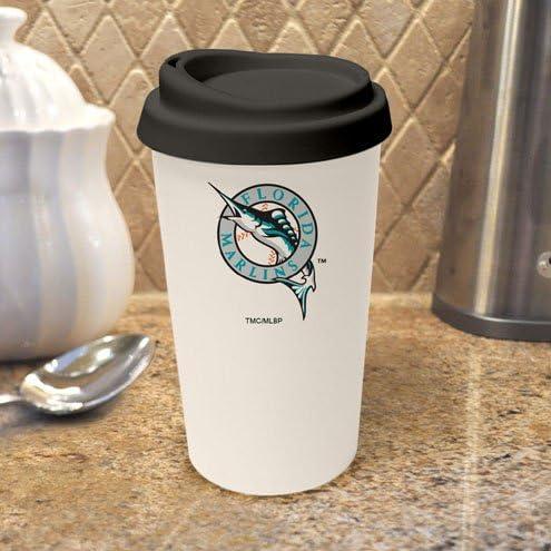 MLB Florida Marlins Travel Mug Overseas parallel Classic import regular item Logo