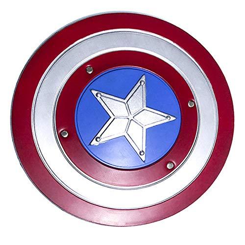 Escudo De Vestuario De Capitn Amrica, Serie Avengers Legends, Rplica De Marvel Prop,Escudo De ABS Plstico De 57 Cm A,44cm