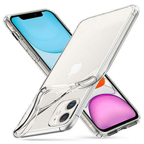 Spigen Cover iPhone 11 Liquid Crystal Progettato per iPhone 11 Cover Custodia - Crystal Clear