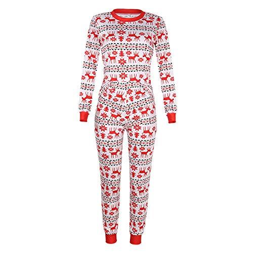 SXZHSM Conjunto De Pijamas Navideños Familiares Ropa De Navidad De Familia Casa Transpirable Suave Cómodo,Baby-9M