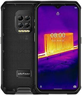 هاتف متين Ulefone Armor 9، كاميرا تصوير حراري، 8 جيجا + 128 جيجابايت، مقاوم للماء ومقاوم للغبار والصدمات، بطارية 6600 ميلل...